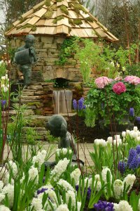 Gardens designed to inspire at the Nashville Lawn & Garden Show.