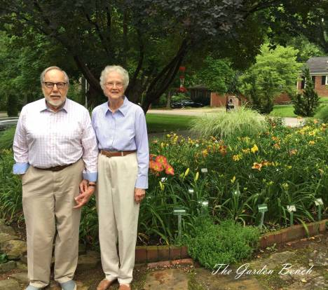 Jay and Peggy Turman's garden contains 400 different species of daylilies.